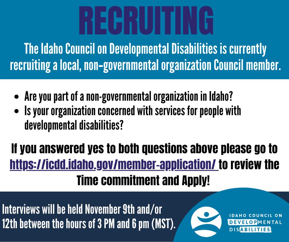 Non-Governmental Recruitment Image