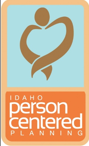 person centered logo graphic
