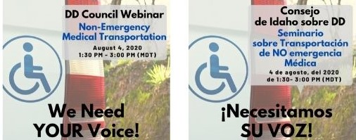 Non-Emergency Medical Transportation Webinar